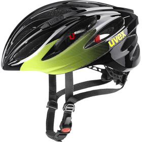 UVEX Boss Race Helmet, black/lime